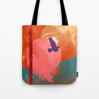 Solitary Flight Tote Bag