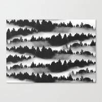 Don't Get Lost in Mist Canvas Print