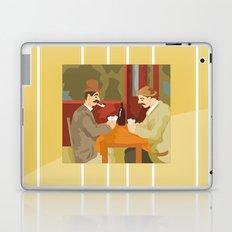 Card players by Cezanne Laptop & iPad Skin
