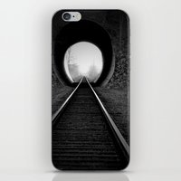 Train Track iPhone & iPod Skin