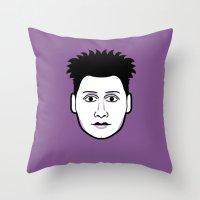 Rebellious Jukebox #12 Throw Pillow