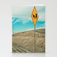 Yup, You're In Rural Montana Stationery Cards