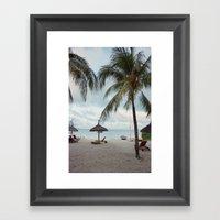 Sunrise in Mauritius II Framed Art Print