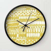 Golden Doodle Oooohh Wall Clock