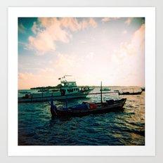 Maldives 02 02 Art Print