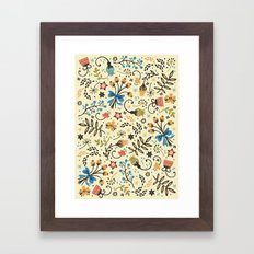 Floral Bloom Framed Art Print