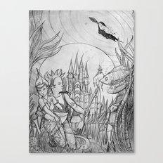 The underwater world Canvas Print