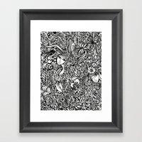 Flora #5 Framed Art Print