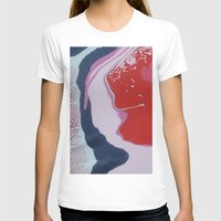 Pinks  Womens Fitted Tee White SMALL