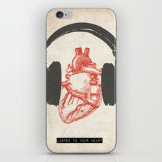 Listen to Your Heart iPhone & iPod Skin