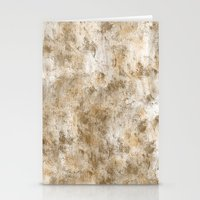 Gold Antique Abstract   Stationery Cards