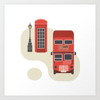 London Icon Art Print