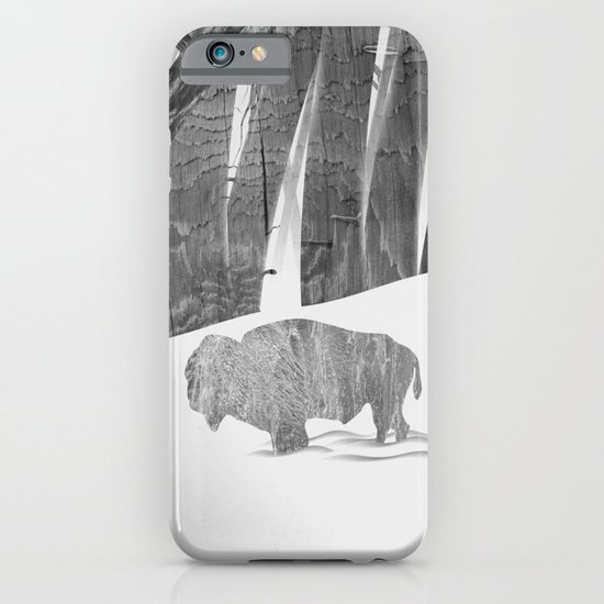 Martwood Bison iPhone & iPod Case