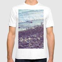 Sea Coast Mens Fitted Tee White SMALL