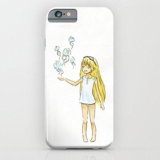 Jellyfish Girl iPhone & iPod Case