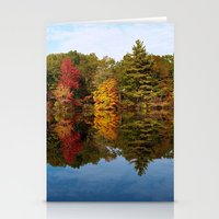 Autumn Reflection Stationery Cards
