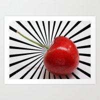Love Cherry Art Print