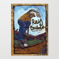 Ray Barbee Canvas Print