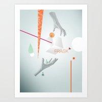 Frask - Hands Art Print