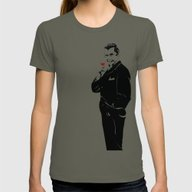 Bela Lugosi Womens Fitted Tee Lieutenant SMALL