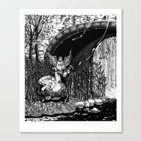 The Letter Canvas Print