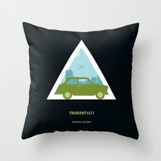 Icotrip - Trabant601 Throw Pillow