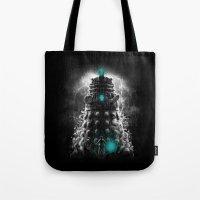 Shadow Of The Dalek Tote Bag