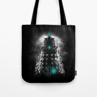 Shadow Of The Dalek Tote Bag