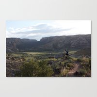 Evening Ride Canvas Print
