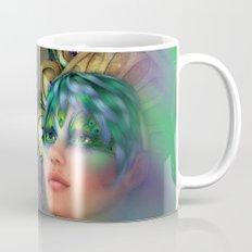 Rainbow Peacock Mug