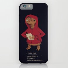 E.T. To-do-list iPhone 6 Slim Case