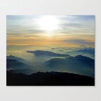 Didn't Have To Die To Go… Canvas Print