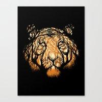 Hidden Hunter Canvas Print