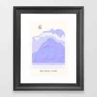 Mount Everest Framed Art Print