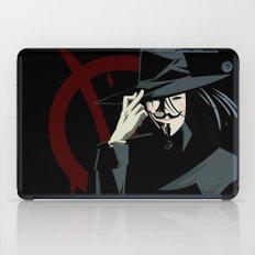 V for Vendetta (e1) iPad Case
