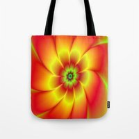 Red Yellow Green And Ora… Tote Bag