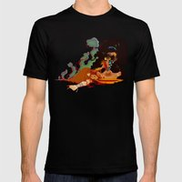 Calypso The Voodoo Pries… Mens Fitted Tee Black SMALL