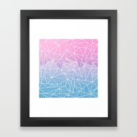 Barika Rays Framed Art Print