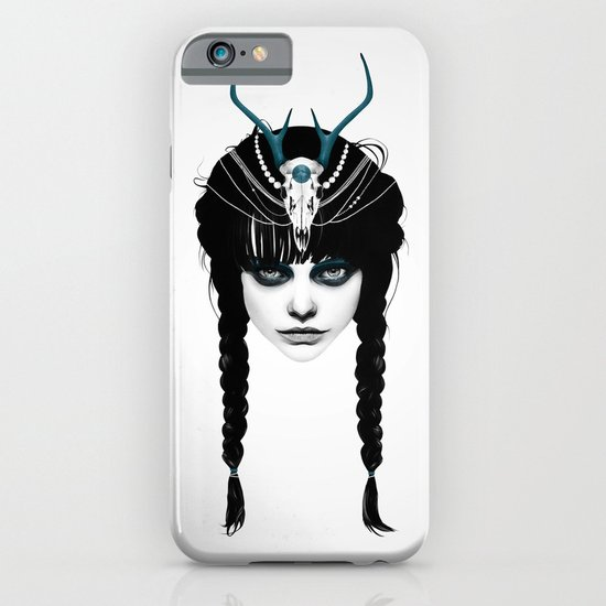 Wakeful Warrior - In Blue iPhone & iPod Case