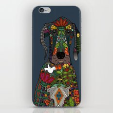Great Dane love midnight iPhone & iPod Skin