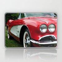 Red Corvette Laptop & iPad Skin