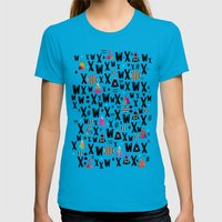 A.W.W.A. YY Womens Fitted Tee Teal SMALL