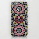 Whats black and yellow and red all over? iPhone & iPod Case