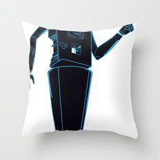 Space robots  Throw Pillow