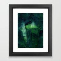 Crystal Evaporating In A… Framed Art Print