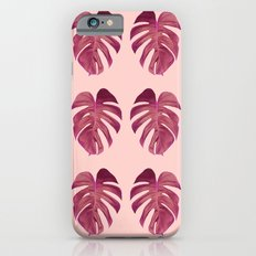 Monstera Leaf Pattern Slim Case iPhone 6s