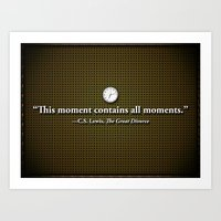 This Moment Art Print
