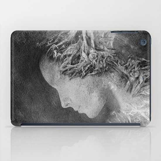 Dark portrait II iPad Case