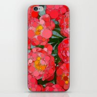Pink Tulips On Parade! iPhone & iPod Skin