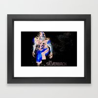 The Silverback Framed Art Print